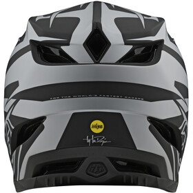 Troy Lee Designs D4 Composite MIPS Mirage Casco, black/silver